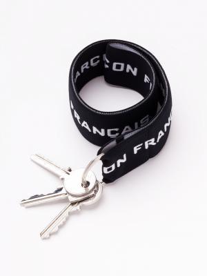 Porte-clefs noir