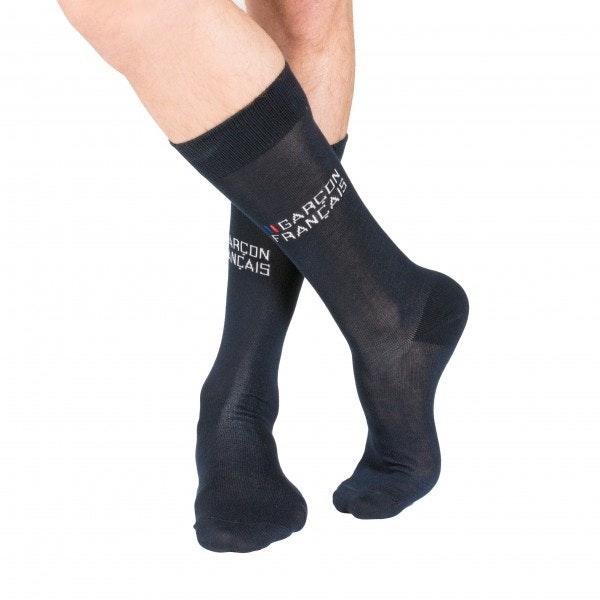 Pack six chaussettes noires