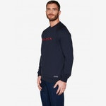 Sweat bleu marine & rouge