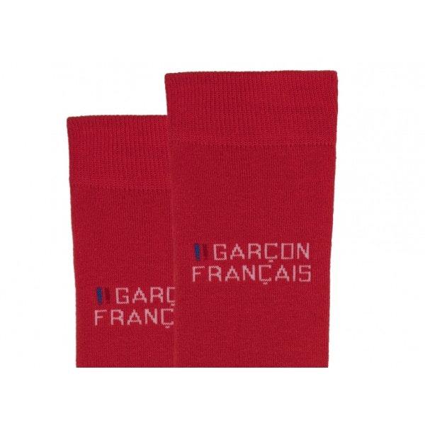 Chaussettes rouges