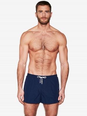Navy Blue Swim Short