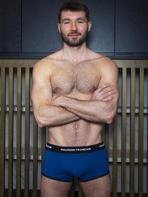 Boxer bleu roi