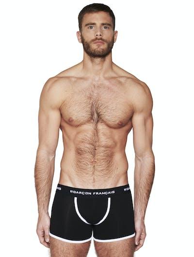 Boxer long noir
