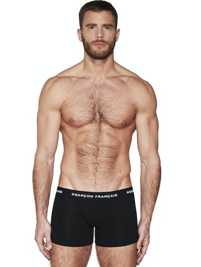 Long Black boxer Essential