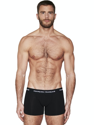 Boxer long noir Indispensable