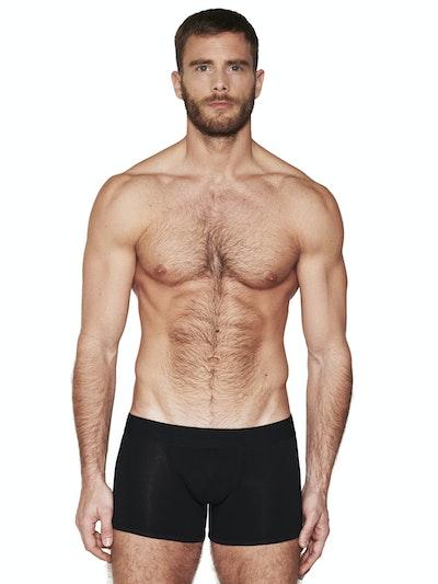 Boxer long pure black