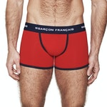 Boxer long rouge