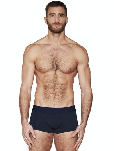 pure navy trunk