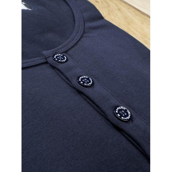 T-shirt tunisien bleu - manches longues