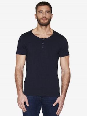 T-shirt tunisien bleu