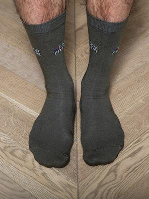 Chaussettes kaki