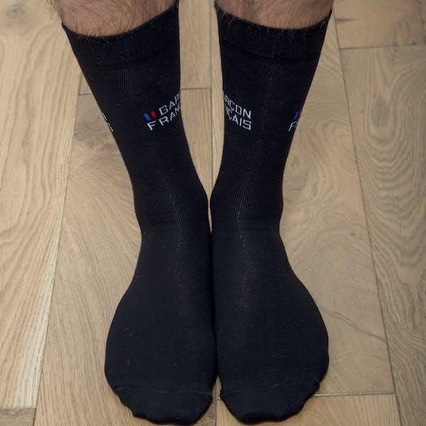 Black city socks