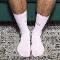 Pale Pink Socks