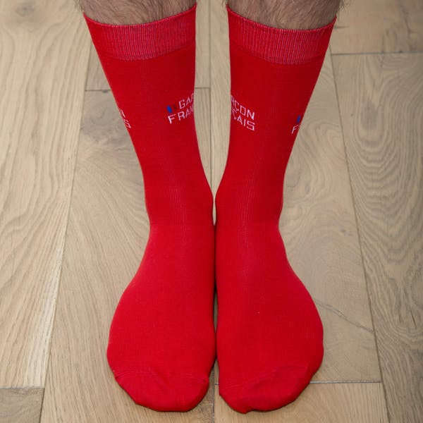 Red city socks