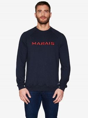 Sweat bleu marine Marais