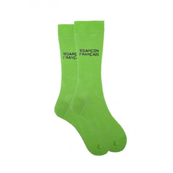 Green city socks