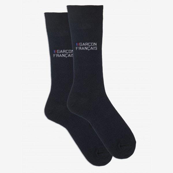Pack six chaussettes bleu marine