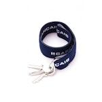 Porte-clés bleu marine