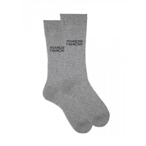 Grey city socks