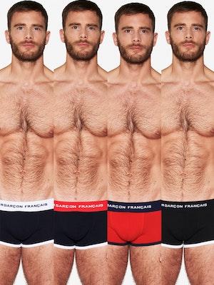 Coffret 4 boxers