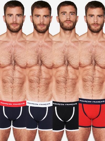 Pack de quatre boxers longs