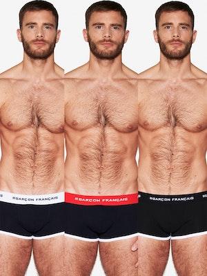 Pack de trois boxers