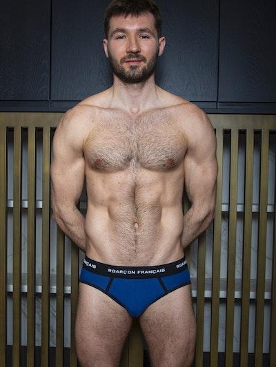 Royal blue brief