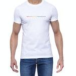 T-shirt blanc Arc-en-ciel