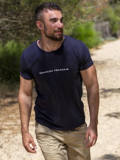 Navy Blue t-shirt - Logo